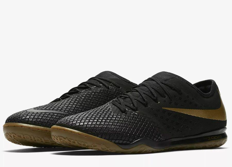 best service 089d3 a50ec #football #soccer #futbol #futsal #nikefootball Nike Zoom Hypervenom III  Pro IC Game Of Gold - Black / Metallic Vivid Gold