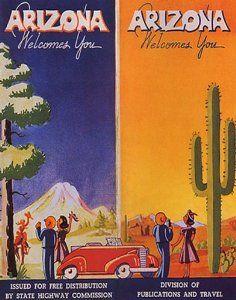 Posters & Prints | Amazon com | Vintage Arizona | Arizona
