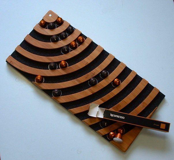 nespresso pod holder nespresso accessories pinterest. Black Bedroom Furniture Sets. Home Design Ideas