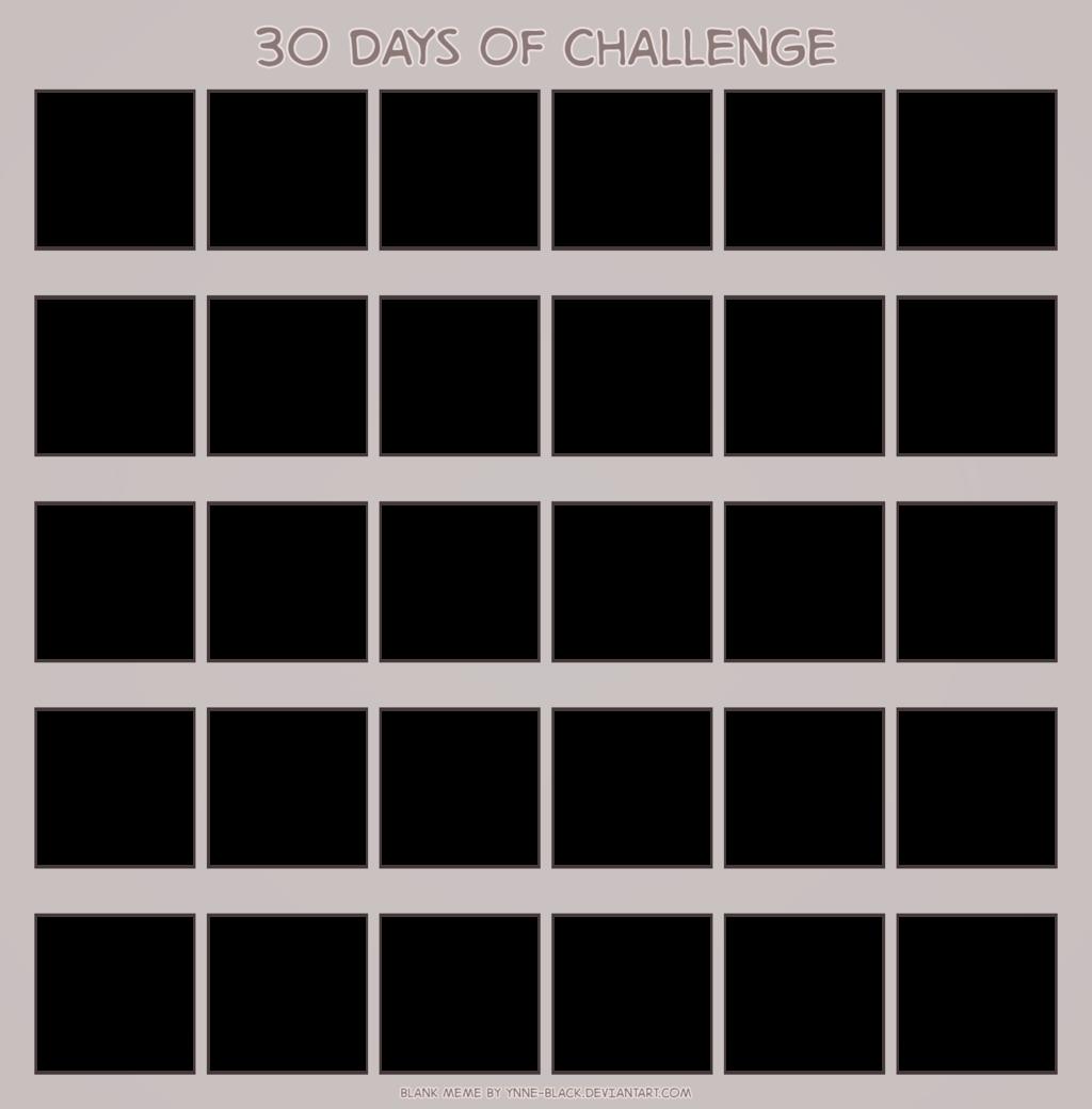blank 30 day calendar printable
