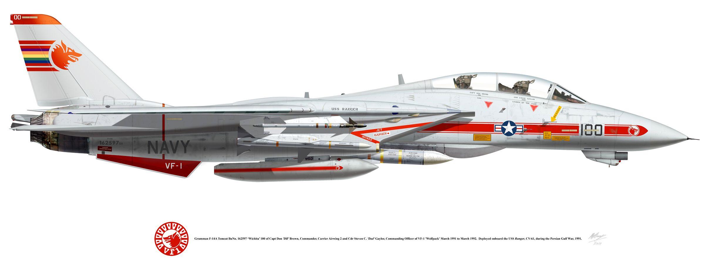 Flugzeug Profile 61 Grumman F1 Tomcat Flugzeug-Modellbau//Bilder//Fotos//Jäger//USA