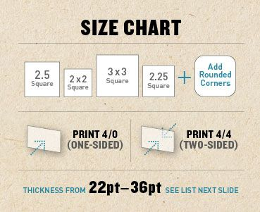 You can print a thick square business card on any size you want you can print a thick square business card on any size you want we offer 2 225 25 and 3 square cards custom sizes are available in inches or colourmoves