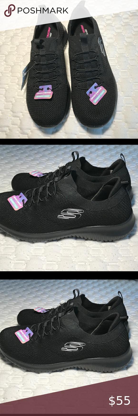 SKECHERS Memory Foam women's sneakers