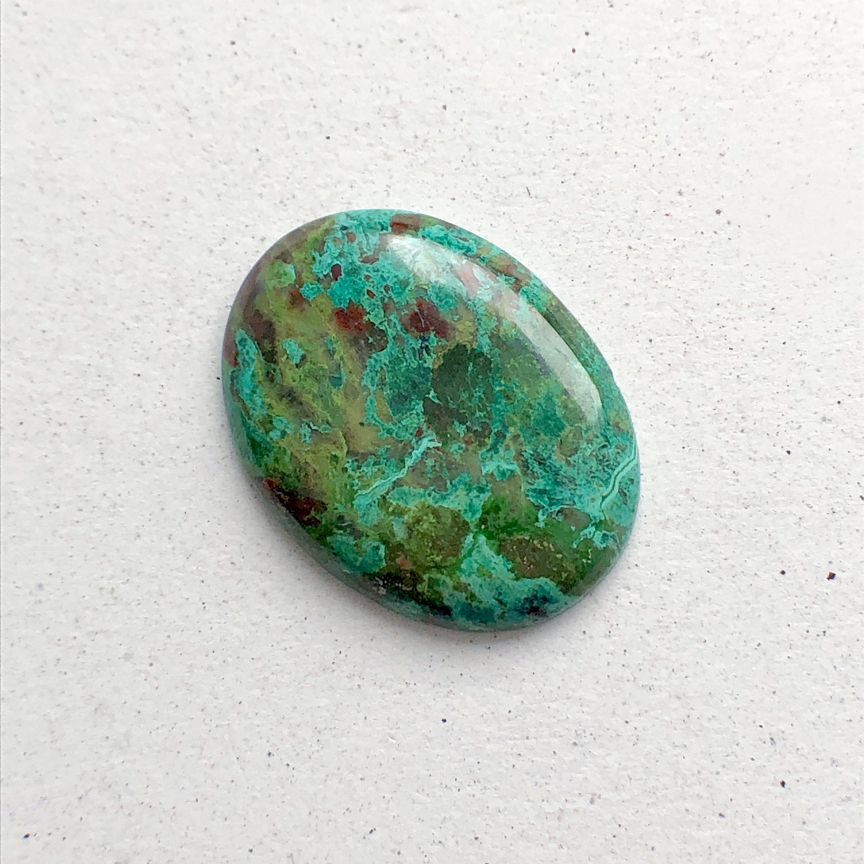 Chrysocolla gemstone | NATURAL Chrysocolla Chrysocolla cabochon Handmade Chrysocolla
