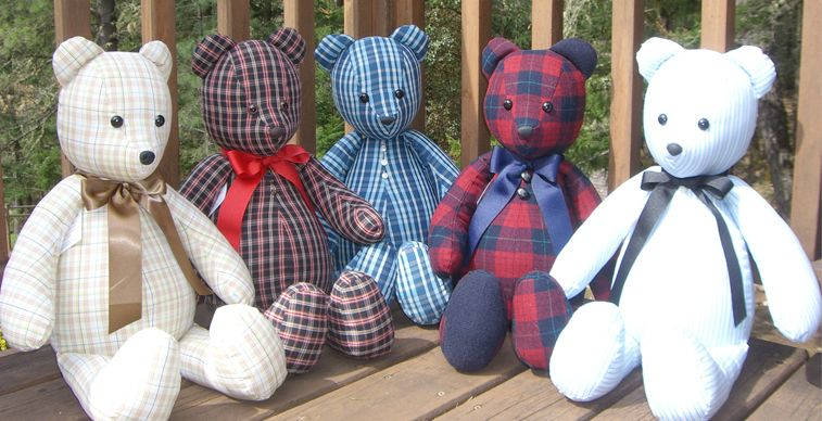 Memory Bear | Memory Bears by Susan | 619-813-6736 ...