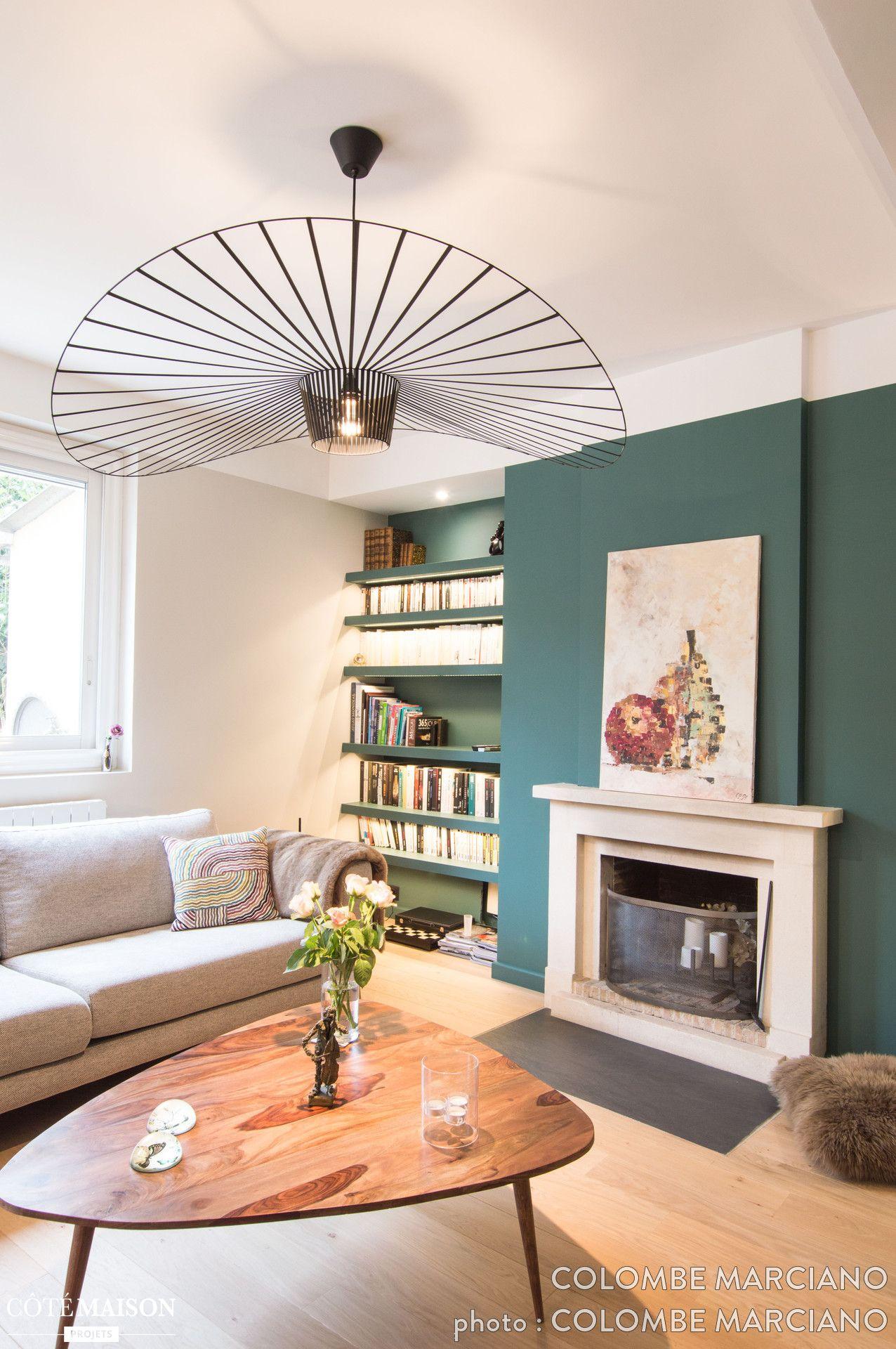 C 39 est un magnifique int rieur lumineux frais et tendance qui a pris place dans cette ravissante - Deco cheminee interieur ...