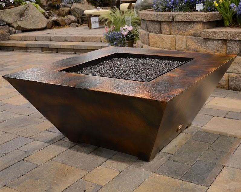 Gas Fire Pit Table 44 Inch Electronic Ignition | Fineu0027s Gas
