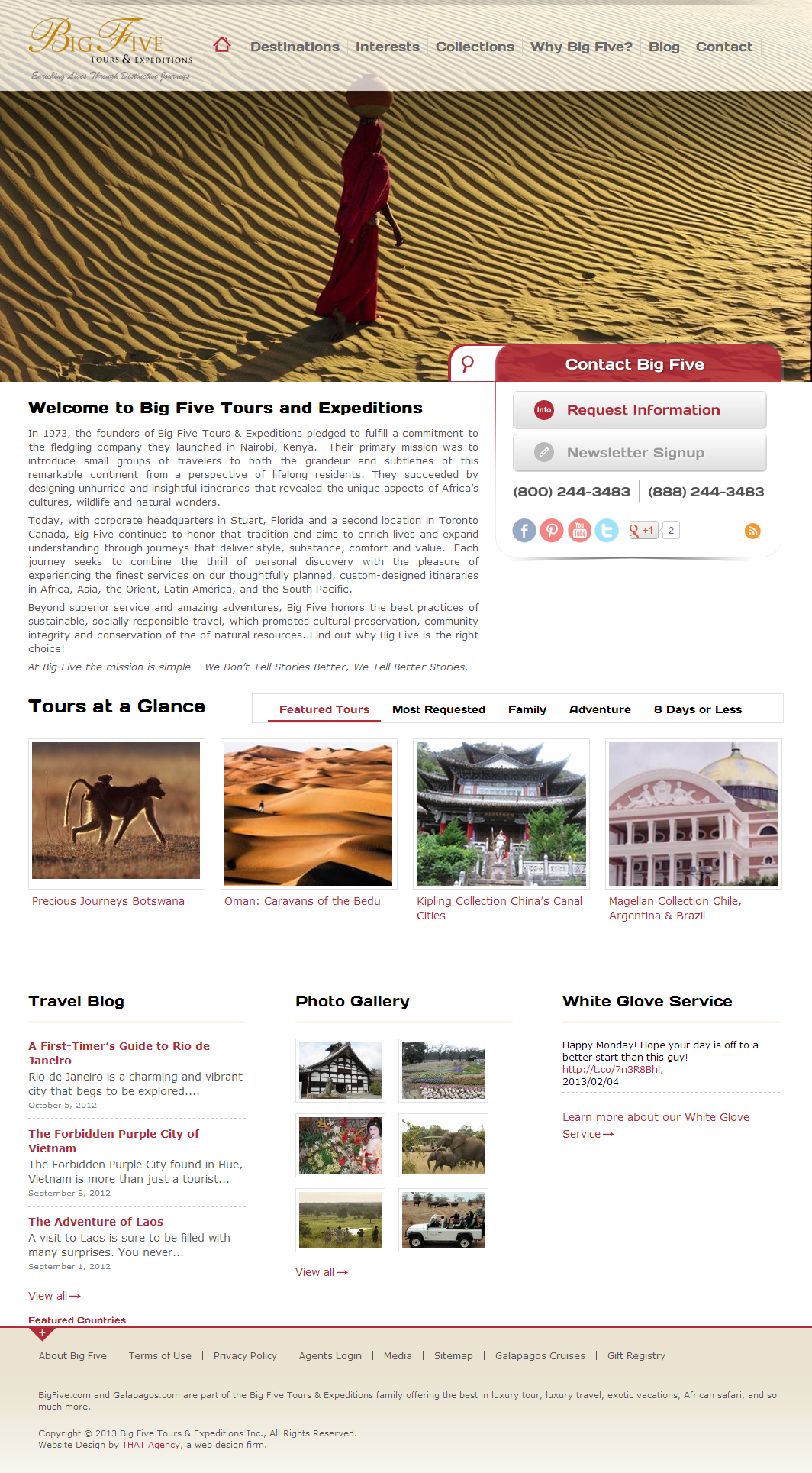 Big Five Tours Expeditions Web Design Company Web Design Web Design Projects