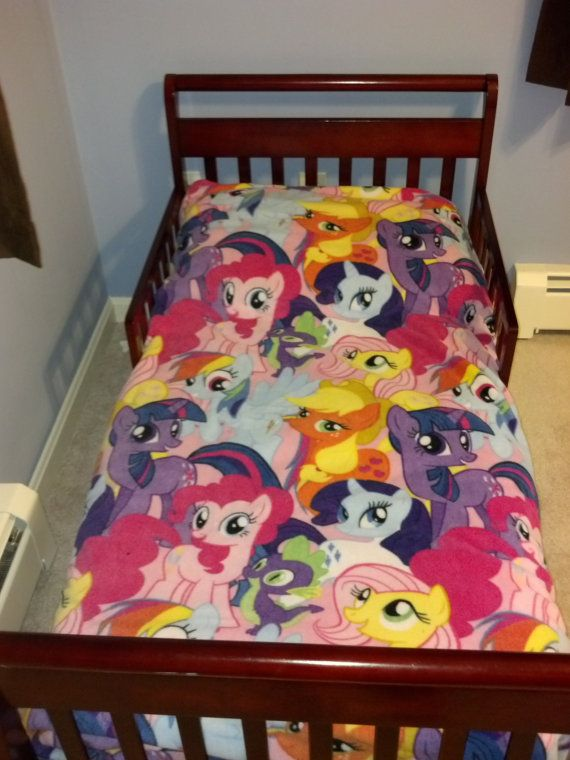 buy online c90fe 85773 My Little Pony Toddler Bed Set by RaeofSunBags on Etsy ...