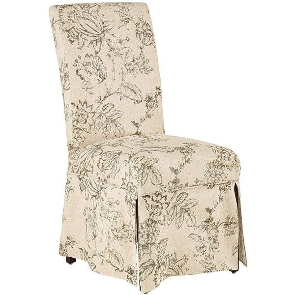 Pier 1 Imports Multi Colored Dana Chair Slipcover (u20ac63) ❤ Liked On