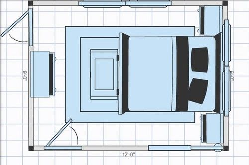 9 12 Bedroom Layout Bedroom Layouts Bedroom Furniture Layout Bedroom Layout Design