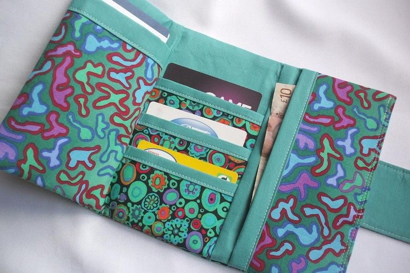 Elegant Tri-Fold Wallet Sewing Pattern - Please Click on the image ...