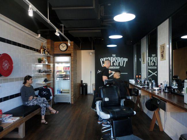 hasil gambar untuk retro industrial interior design barbershop rh pinterest com au barber shop interior designs barber shop interior design ideas