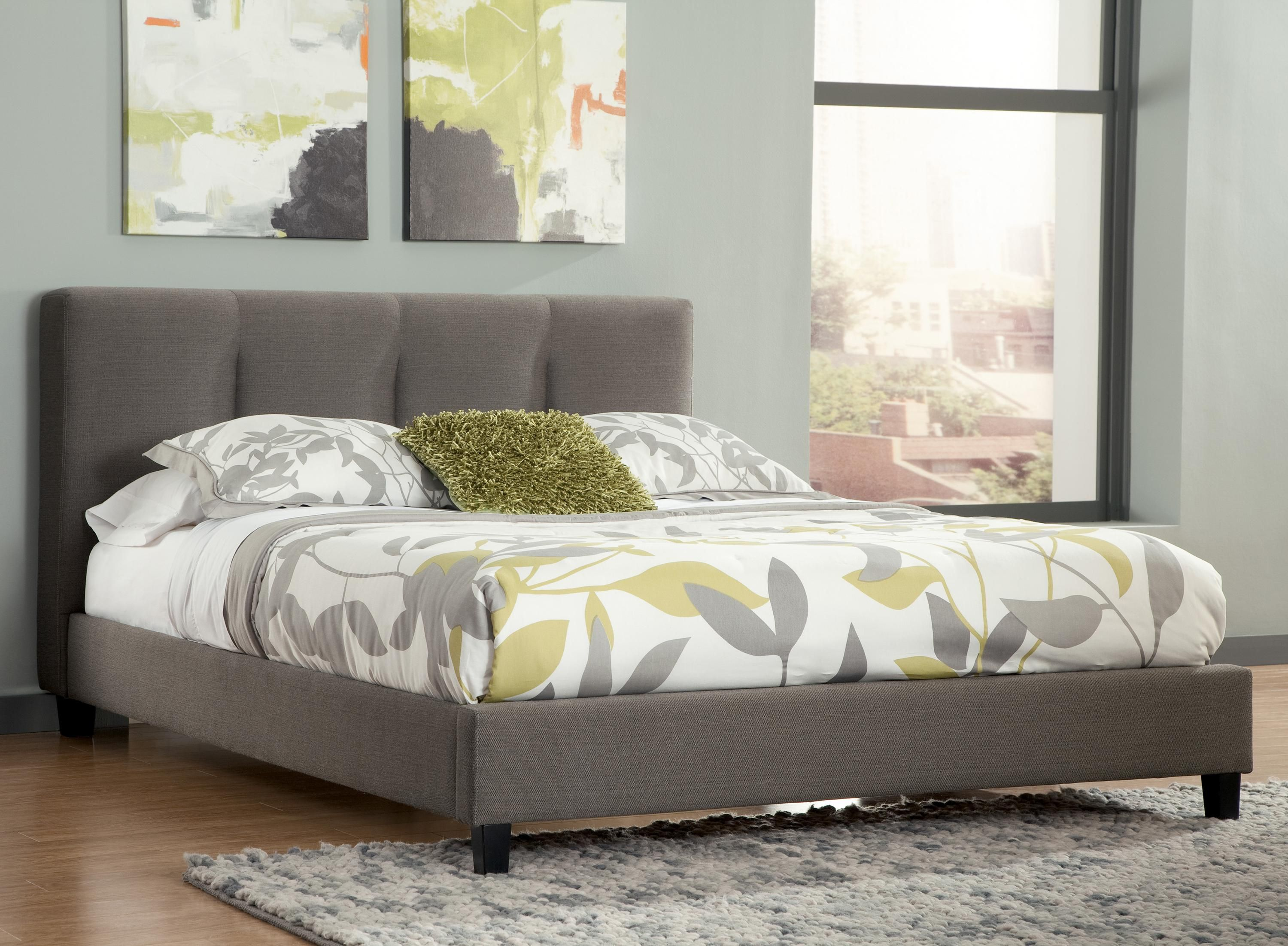 Masterton Queen Upholstered Platform Bed With Channel Tufted Delectable Signature Design Bedroom Furniture Inspiration