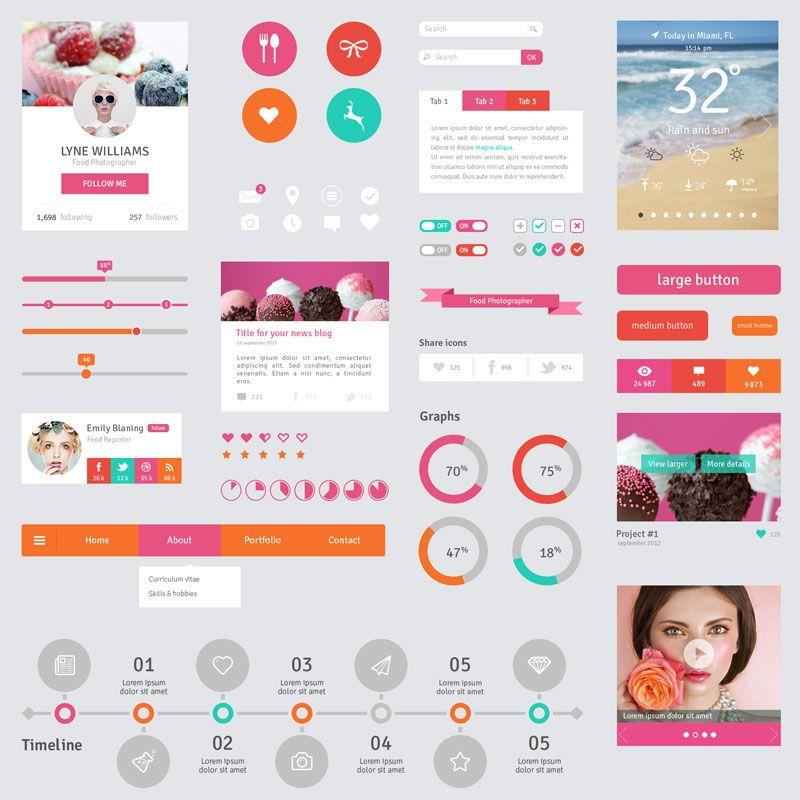 http://flatdsgn.com/wp-content/uploads/2013/10/Flat-UI-Design-Freebies2.jpg