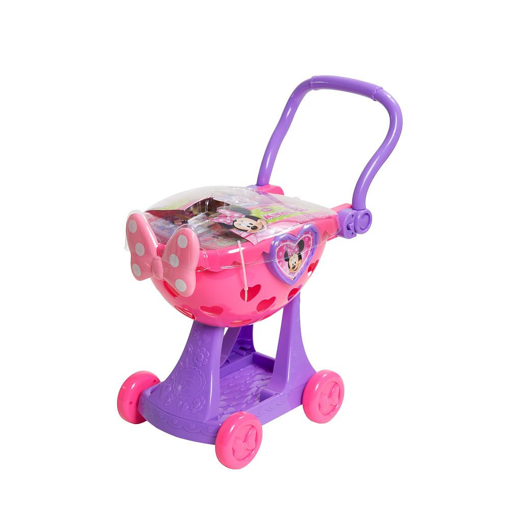 Just Play Toys : Minnie mouse bow tique shopping cart just play toys quot r