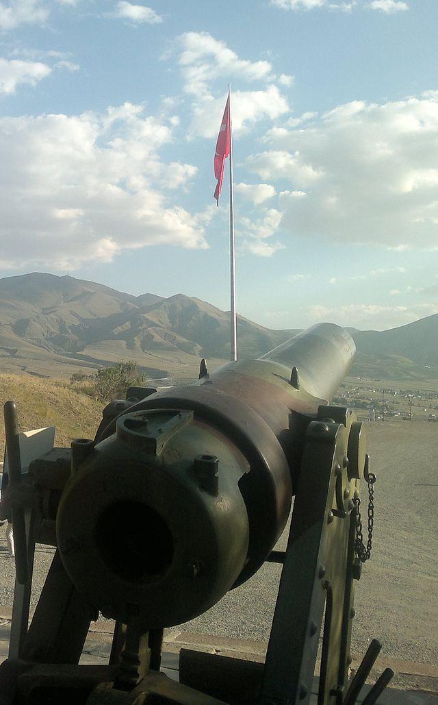 Aziziye Tabyası Bayrakve Top - Erzurum - Vikipedi