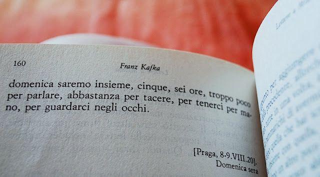 Il Giorno In Cui Comprai Lettere A Milena Di Kafka