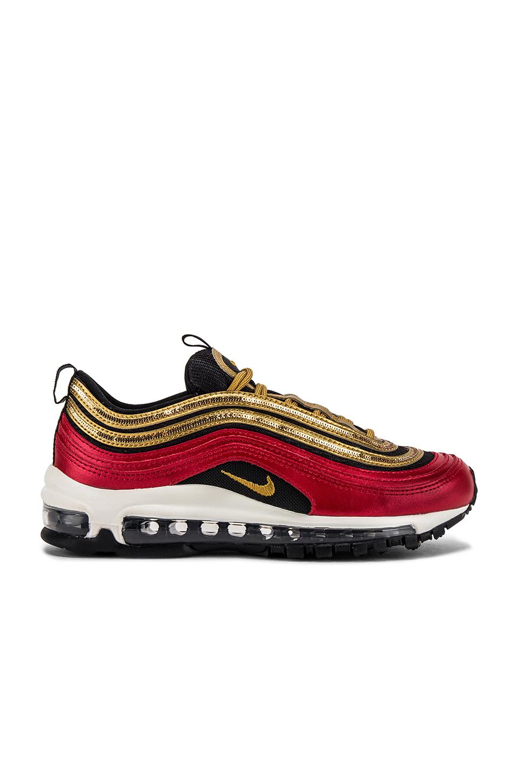 Nike Air Max 97 GD Sneaker in University Red, Metallic
