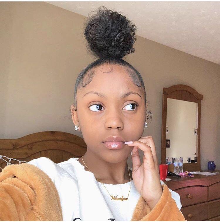 Pin By On Baddie Black Girl Natural Hair Natural Hair Styles Natural Hair Styles Easy