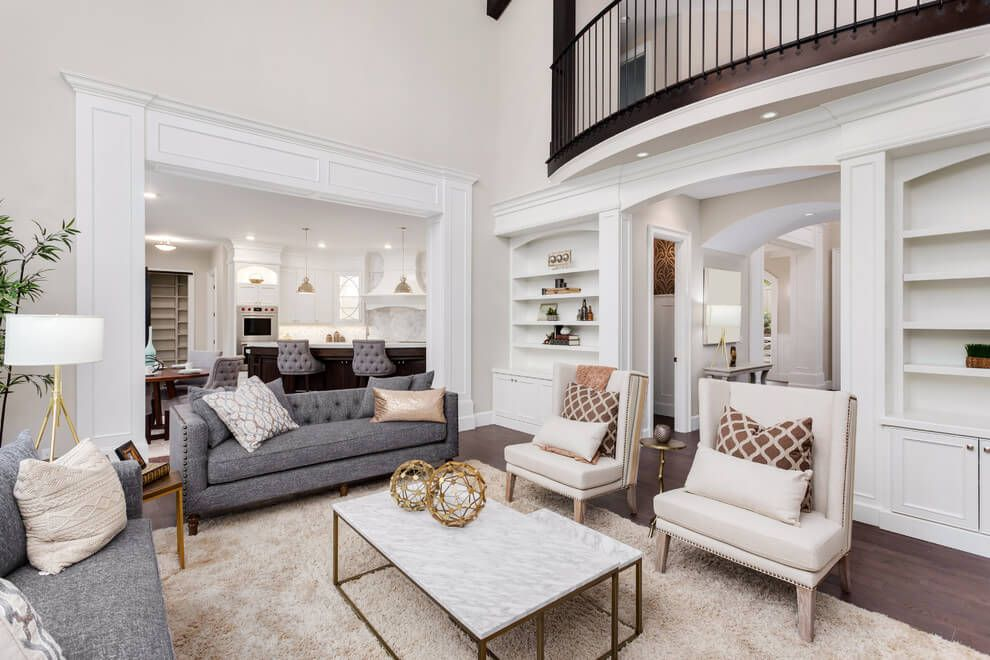 30 Stylish Gray Living Room Ideas To Inspire You Living Room Grey Formal Living Rooms Living Room Modern