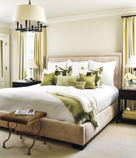 Megan Morris - http://meganmorrisblog.com/2014/02/10-gorgeous-green-bedroom-ideas/