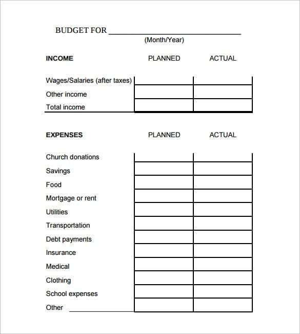 excel budget template 5 Templates Pinterest Templates, Budget