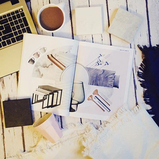 Blankets Coffee Magazines Netflix Elledecor Interior Design Interiordesign