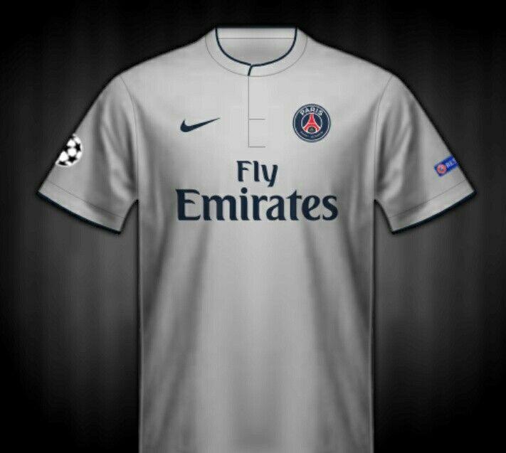 Paris St Germain away shirt for 2014-15.