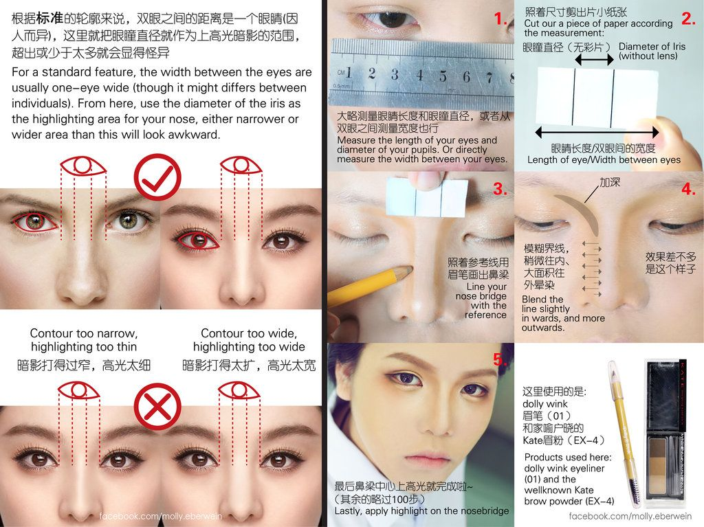 Nose contouring tutorial by mollyeberwein.deviantart.com on ...
