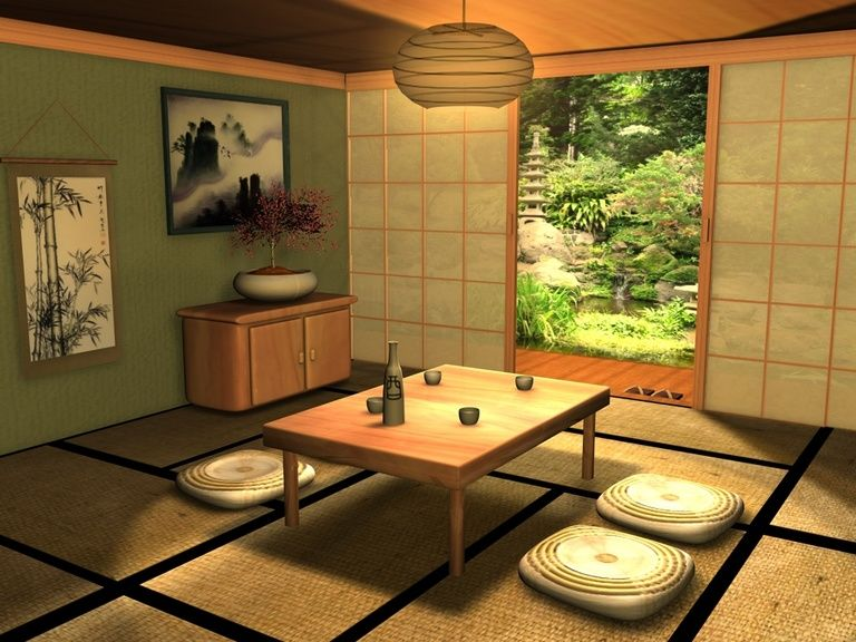 Traditional Japanese Room By Fizzingwhizbee5 On DeviantART