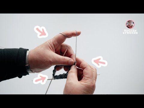 Photo of ▷ Mit Doppelspitznadeln stricken sockshype.com