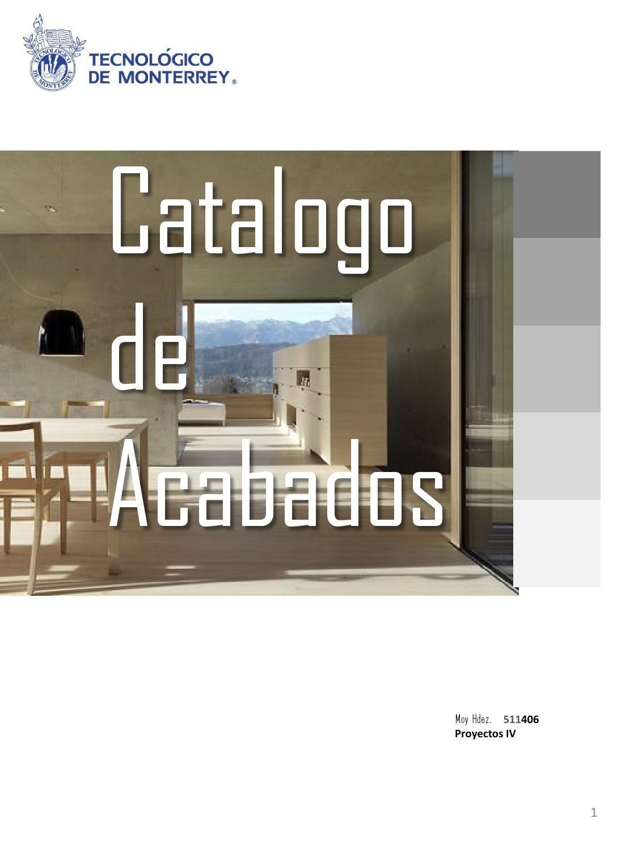 Catalogo Moi Architecture Design Interior Design
