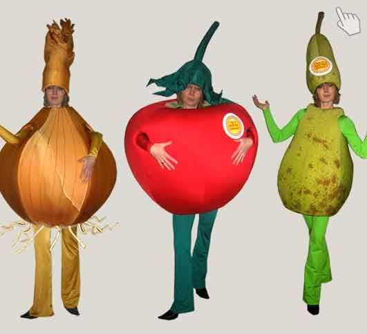 Promotionkostume Gemuse Obst Kostume Pinterest Vegetable