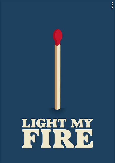 Light My Fire   Illustration for the song Light My Fire, by The Doors.