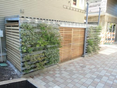 Trash Enclosure Garden Studio Carport Sheds Garden Design