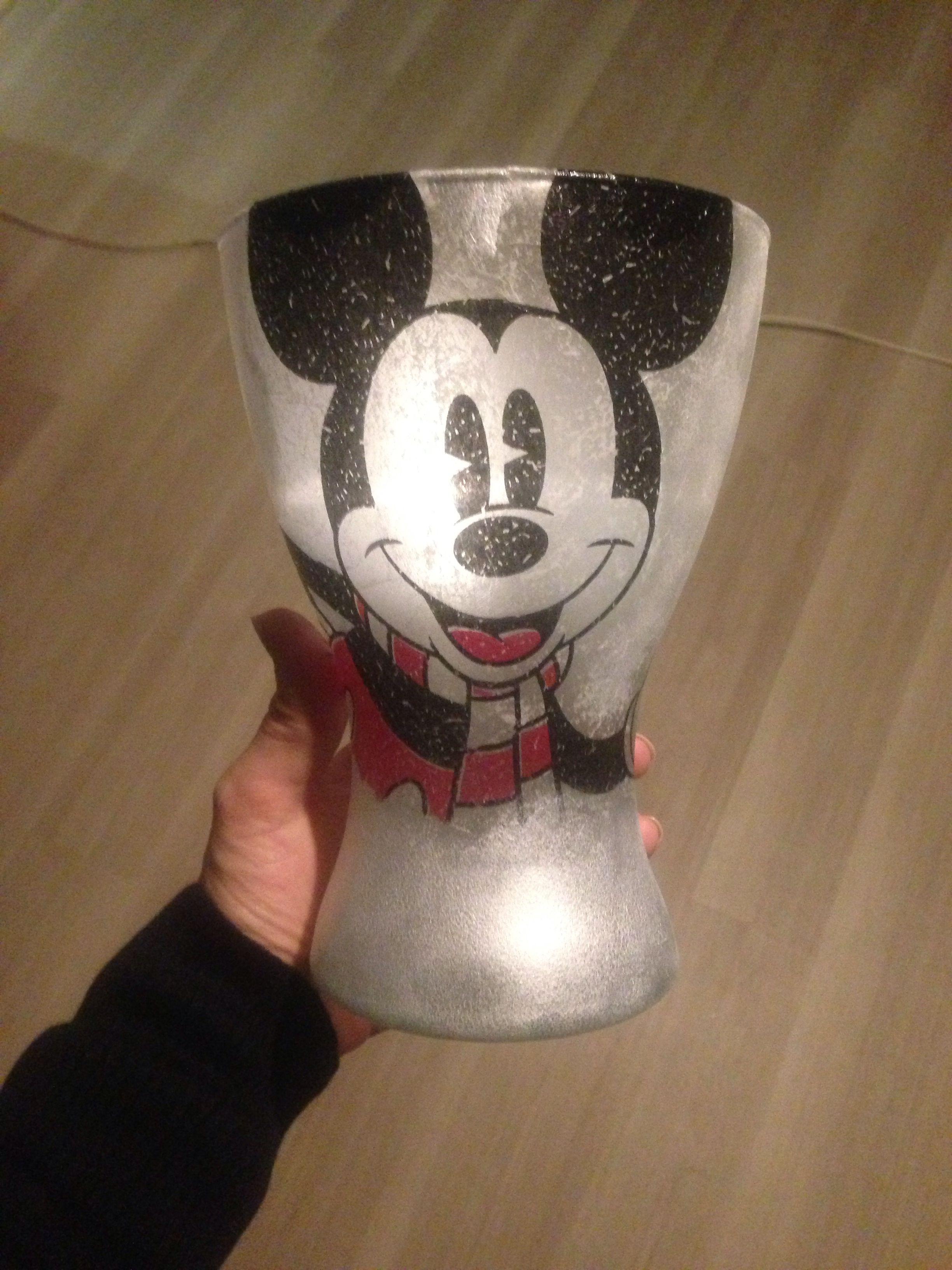 Luxurypimp Windlicht/ Vase Mickey Maus | Luxurypimp Geschenke ...