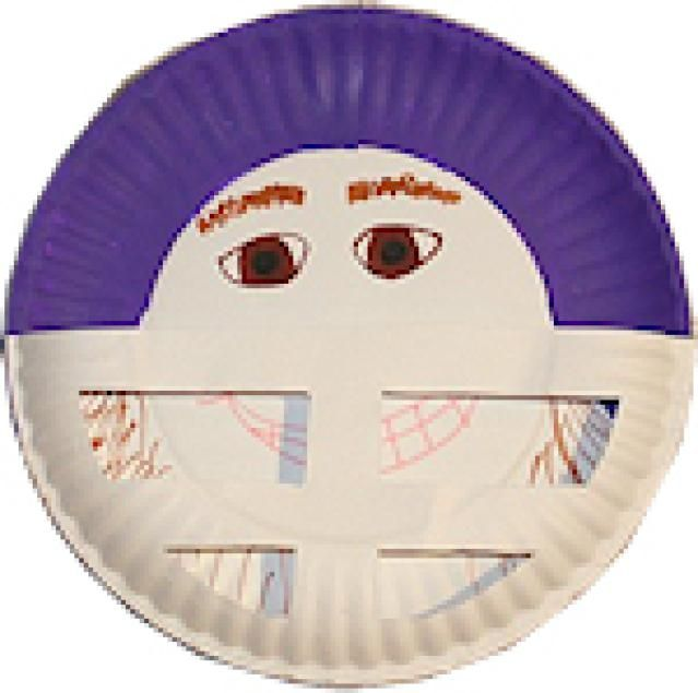 How to Make a Paper Plate Football Player Football Player Craft  sc 1 st  Pinterest & How to Make a Paper Plate Football Player | Football players and School
