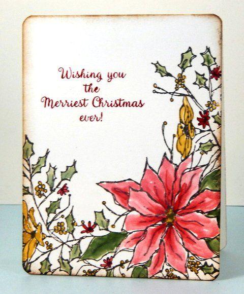 Merriest Christmas Jeanne_Streiff | Christmas Cards | Pinterest ...