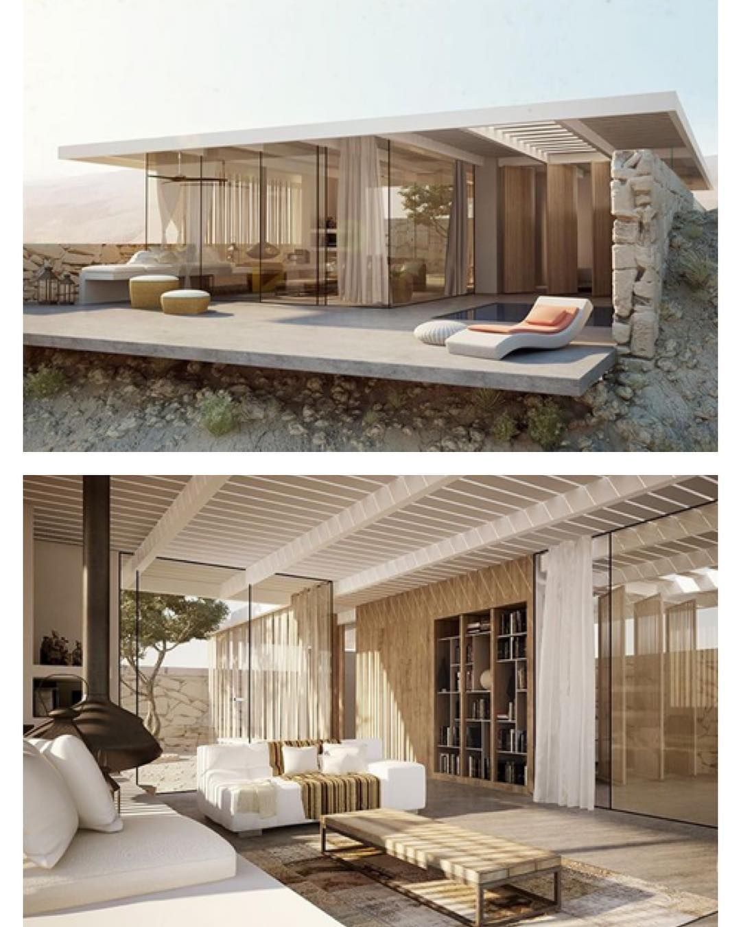 Modern Desert Villa Retreat Concept Design By Weinstein