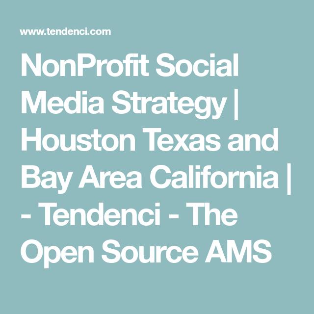 NonProfit Social Media Strategy Houston Texas and Bay