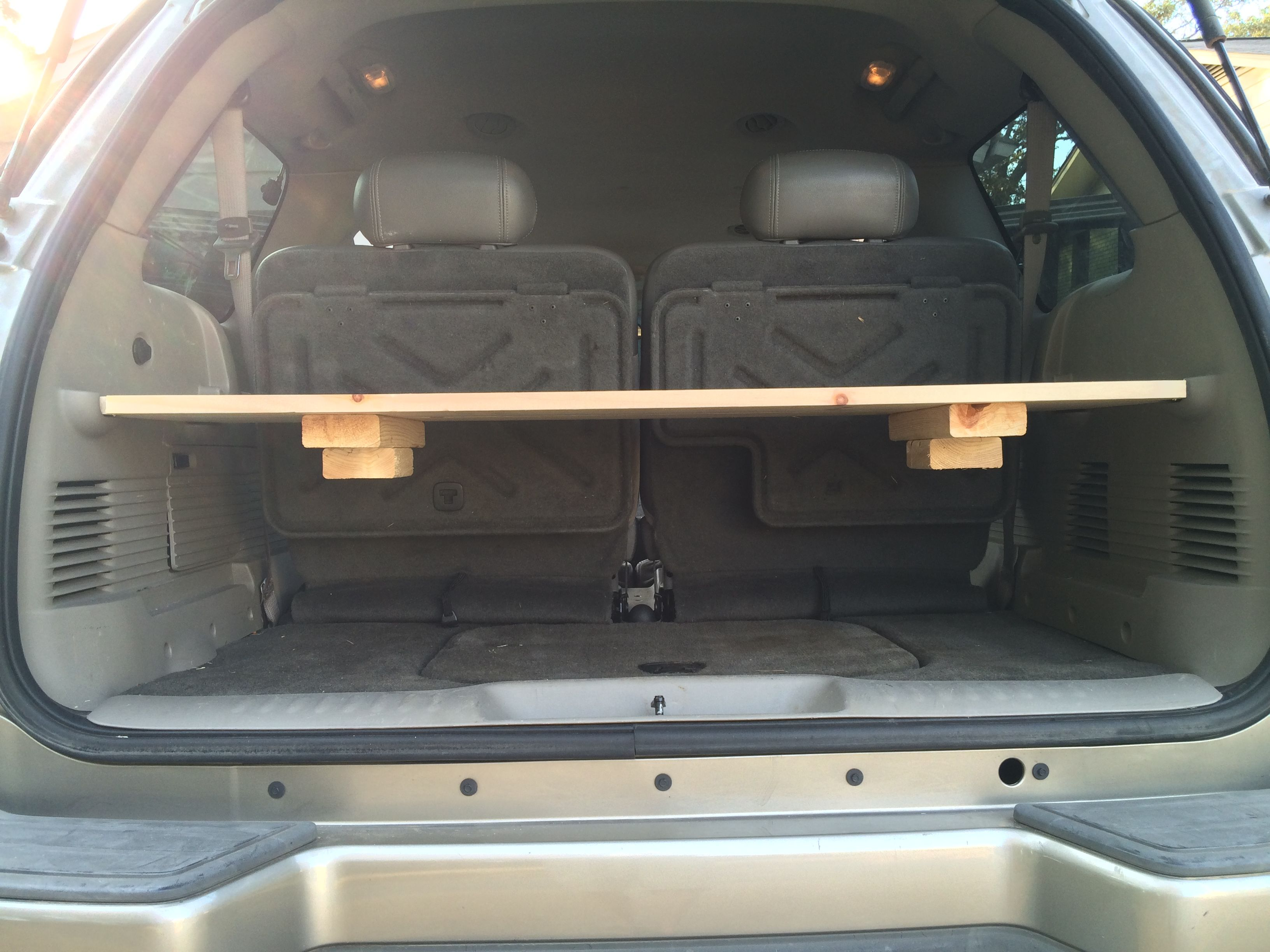 14 Diy Cargo Shelf For Chevy Trailblazer Chevy Trailblazer