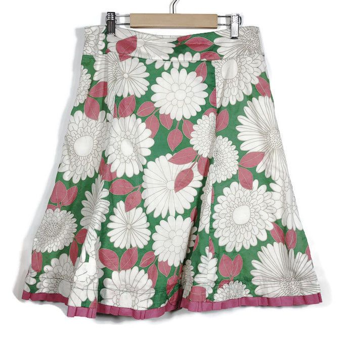 354fc75264 Boden Women Sz 10 Floral Daisy A Line Knee Length Multicolor Cotton Skirt  #fashion #clothing #shoes #accessories #womensclothing #skirts (ebay link)