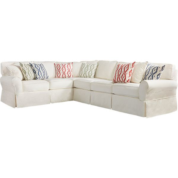 Cindy Crawford Home Beachside II Natural 2 Pc Sectional