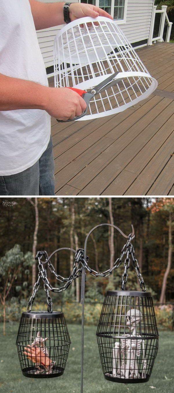 25 Easy and Cheap DIY Halloween Decoration Ideas #cheapdiyhalloweendecorations