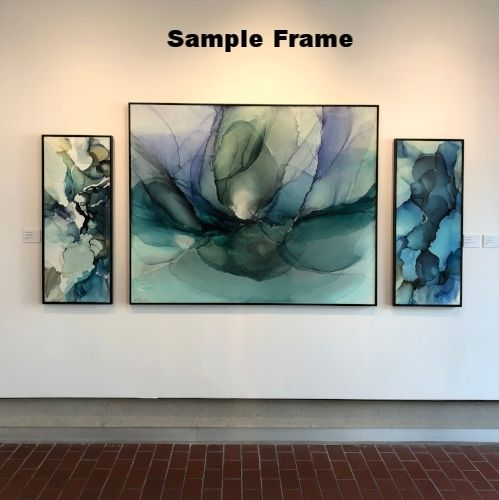 Floater Frames, Stain Colors