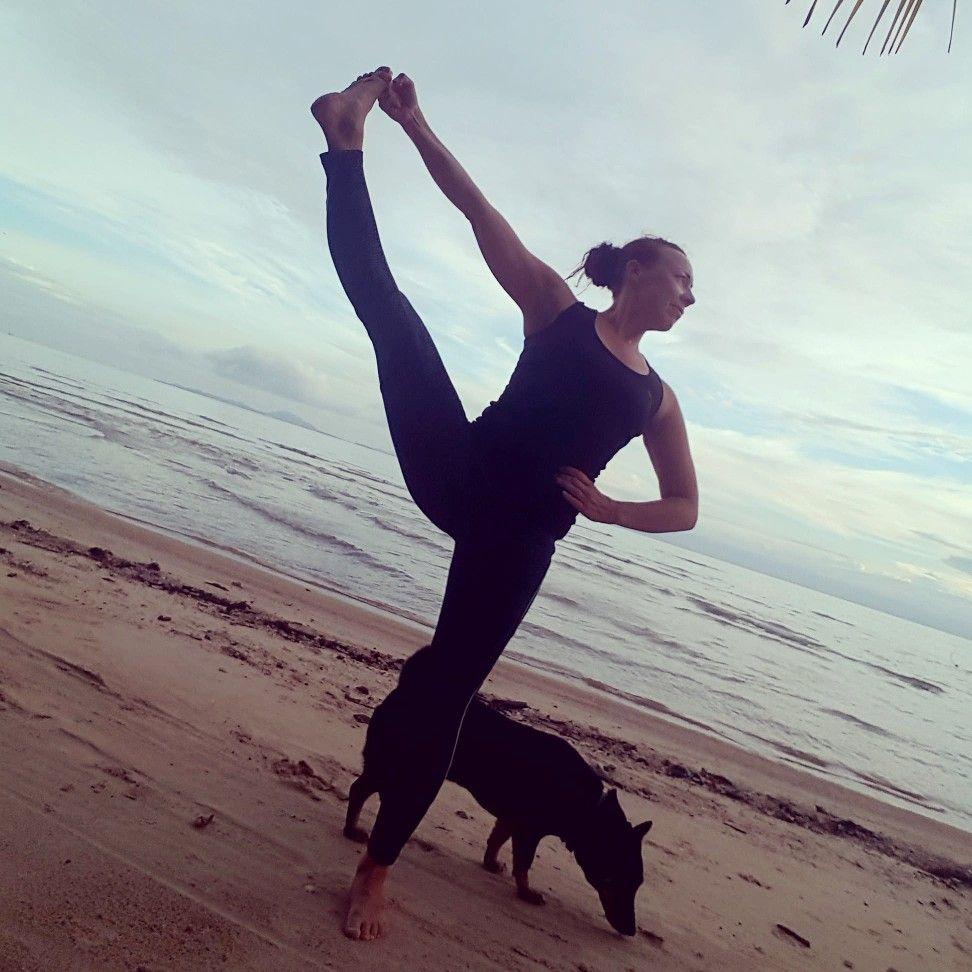 If you want to know more how my Ashtanga Yoga Teacher ...