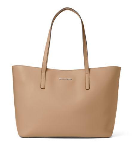 Emry Medium Leather Tote Bag Michael Kors Leather Tote Bags Leather Tote Bag