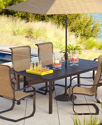 Bridgeton Outdoor Patio Furniture Dining Sets Pieces Furniture