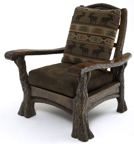 Rustic Chair Available At Woodland Creek Furniture.